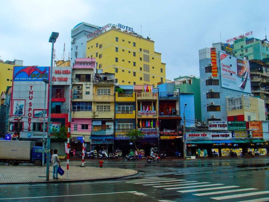 The colorful blocks of Ho Chi Minh City