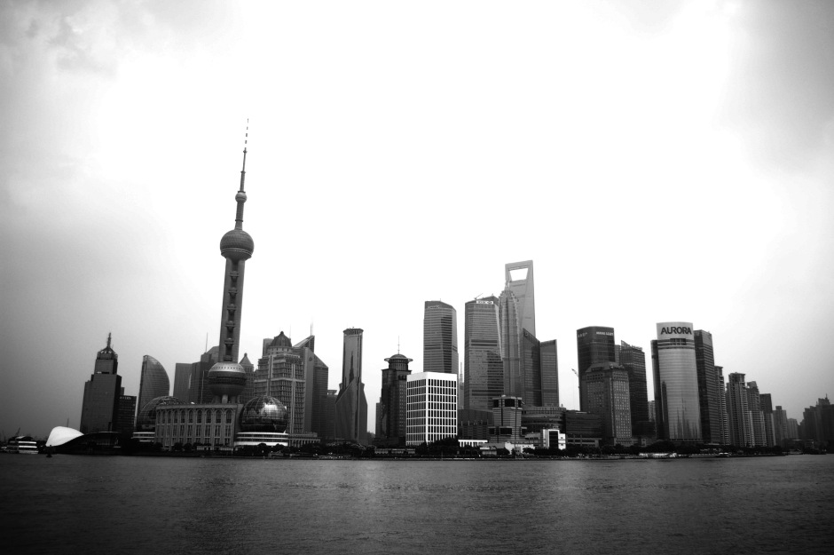 View of Pudong from Shanghai