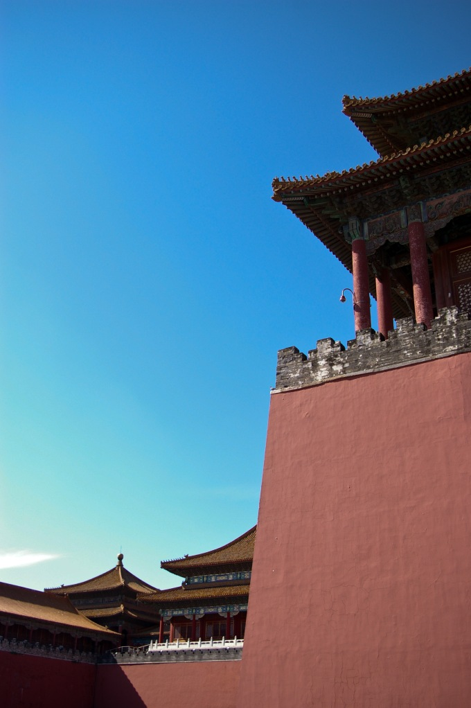 Outer walls of the Forbidden City