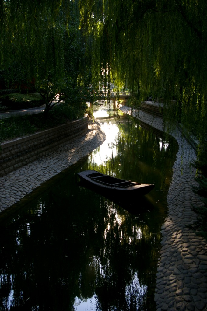 A hidden river just away from the chaos of Tiananmen Square