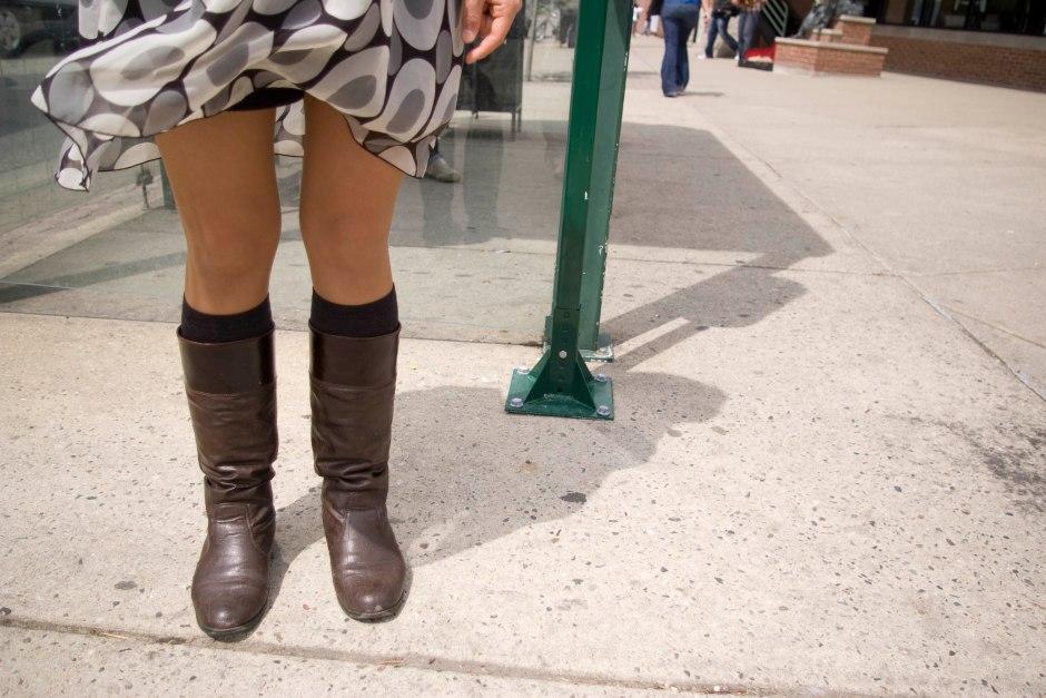 Street fashion on Grand River Avenue, East Lansing, MI